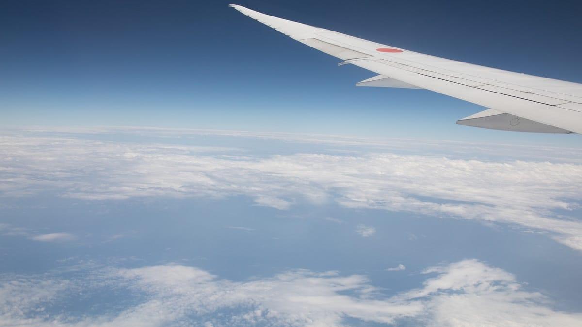 飛行機 雲海